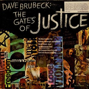 DAVE BRUBECK - The Gates Of Justice - LP