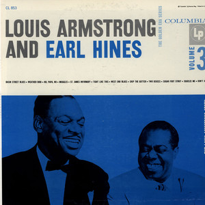 LOUIS ARMSTRONG AND EARL HINES - The Louis Armstrong Story - Vol. 3 - LP