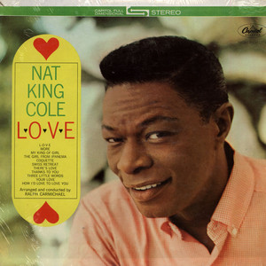 NAT KING COLE - L-O-V-E - LP