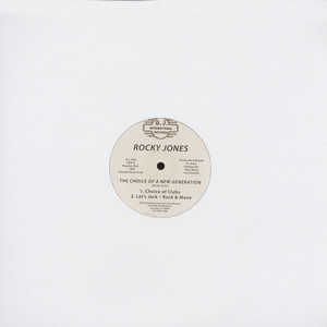 ROCKY JONES - The Choice Of A New Generation - 12 inch x 1