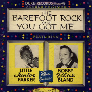 LITTLE JUNIOR PARKER / BOBBY BLAND - Blues Consolidated - LP