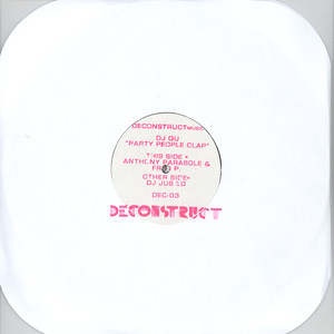 DJ QU - Party People Clap - 12 inch x 2