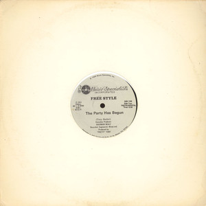 FREESTYLE - The Party Has Begun - 12 inch x 1