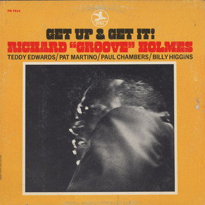 RICHARD ''GROOVE'' HOLMES - Get Up And Get It! - LP