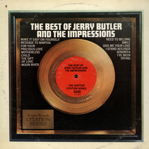 JERRY BUTLER AND IMPRESSIONS, THE - The Best Of Jerry Butler And The Impressions - LP
