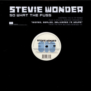 STEVIE WONDER - So What The Fuss - 12 inch x 1