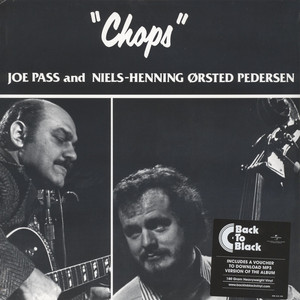 JOE PASS / NIELS-HENNING ORSTED PEDERSEN - Chops Back To Black Edition - LP