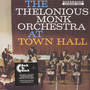 THELONIOUS MONK ORCHESTRA - At Town Hall Back To Black Edition - LP