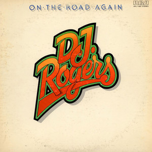 D. J. ROGERS - On The Road Again - LP