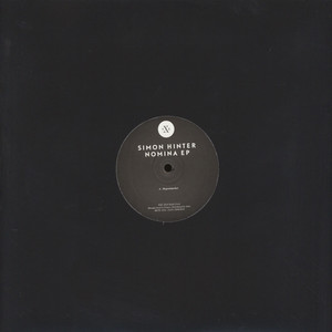 SIMON HINTER - Nomina EP - 12 inch x 1