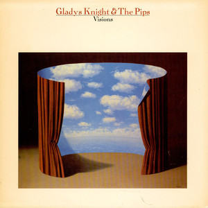 GLADYS KNIGHT AND THE PIPS - Visions - LP