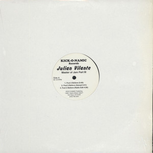 JULIAN VILANTE - Master Of Jam Part III - 12 inch x 1
