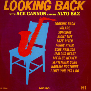 ACE CANNON - Looking Back - LP