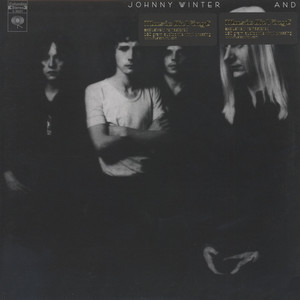 JOHNNY WINTER - And - LP
