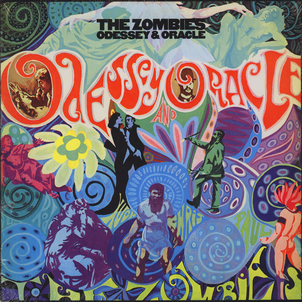 Zombies The Odessey Amp Oracle Vinyl Lp 1968 Us