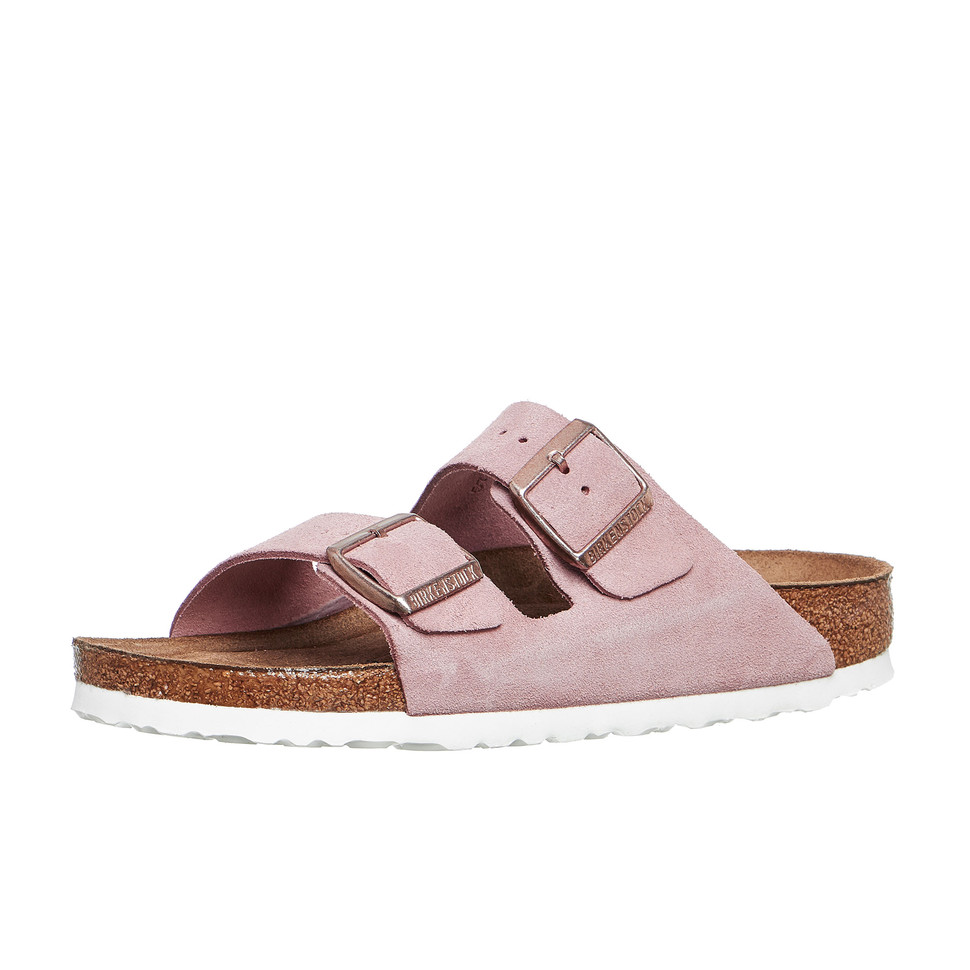birkenstock arizona sfb w rose sandalen schuhe ebay. Black Bedroom Furniture Sets. Home Design Ideas