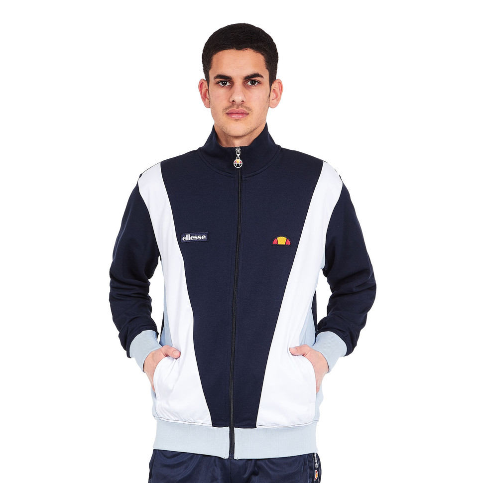 ellesse vilas track top dress blues trainingsjacke jacke. Black Bedroom Furniture Sets. Home Design Ideas