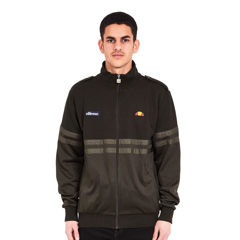 ellesse asinara track top khaki marl trainingsjacke. Black Bedroom Furniture Sets. Home Design Ideas
