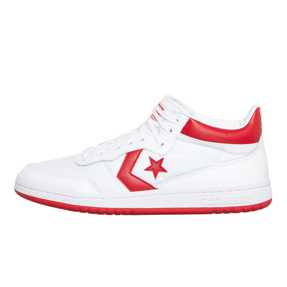 Converse-casi break 83 White/casino/White cortos zapatos