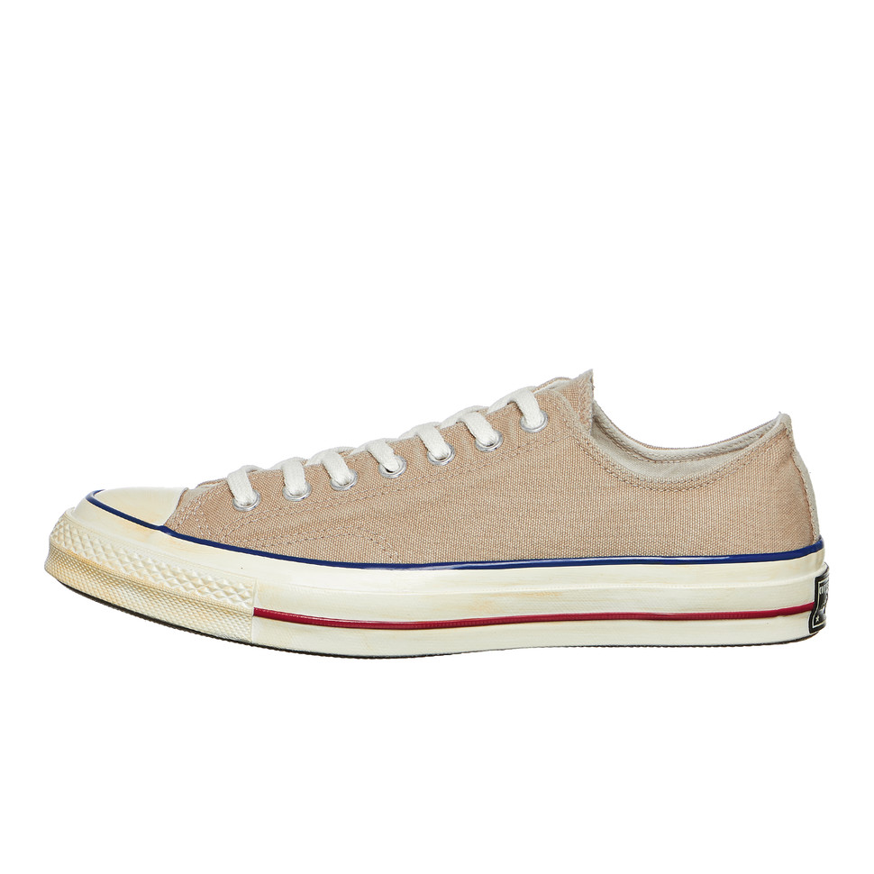 Converse - Chuck Taylor All Star 70 Ox Vintage Khaki / Blue / Red Sneaker