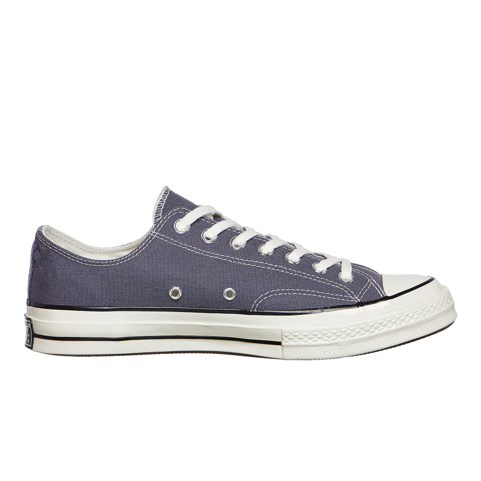 Converse - Chuck Taylor All Carbon Star 70 Ox Light Carbon All / Black / Egret Sneaker 4b191b