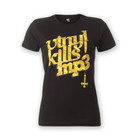 Vinyl Kills MP3 - Logo T-Shirt