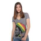 Bob Marley - Rasta Tam Women V-Neck T-Shirt
