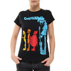 Gorillaz - Noodle Band Colour With Logo Women T-Shirt
