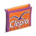 Cleptomanicx - Blue Girl Scribble Velcro Wallet