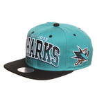 Mitchell &amp; Ness - San Jose Sharks NHL Arch Gradient Snapback Cap