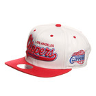 Mitchell &amp; Ness - Los Angeles Clippers NBA Script Tailsweeper Snapback Cap