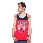 Mitchell &amp; Ness - Chicago Bulls NBA Colour Block Tank Top