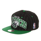 Mitchell & Ness - Dallas Mavericks NBA MTC Pinstripe Snapback Cap