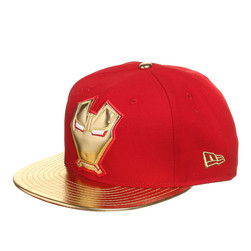 New Era x Marvel - Metallic Face Cap