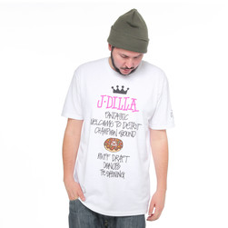 Stüssy x J Dilla - Dilla World Tour T-Shirt
