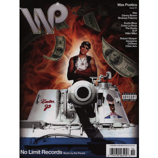 Waxpoetics - Issue 51 - An All Hip-Hop Issue - No Limit / Shabazz Palaces Cover