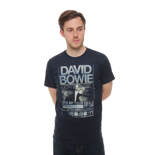 David Bowie - Isolar Tour 1976 T-Shirt