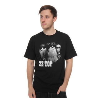 ZZ Top - ZZ Top Black Photo T-Shirt