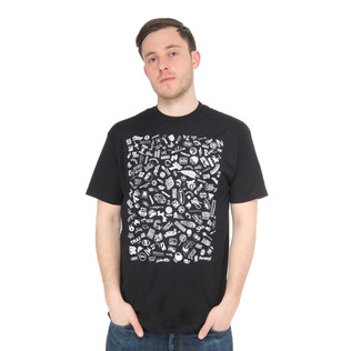 Stones Throw - Record Label Logos T-Shirt