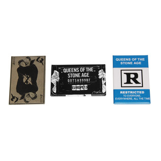 Queens Of The Stone Age - 3some Magnet (Pack of 3)