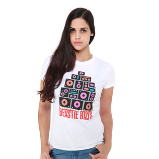 Beastie Boys - White Boom Boxes Women T-Shirt