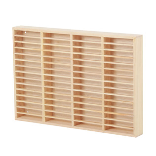 Tape Wooden Rack - Musikkassetten Holzregal