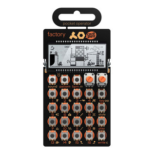 Teenage Engineering x Cheap Monday - Pocket Operator PO-16 Factory (Lead Synthesizer)
