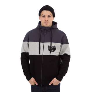 Wu-Tang Clan - 3 Tone Stripe Zip-Up Hoodie