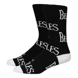 Beatles, The - Black Logo Repeat Socks