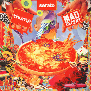 Mad Decent x Thump x Serato - Mad Decent x Thump Control Vinyl