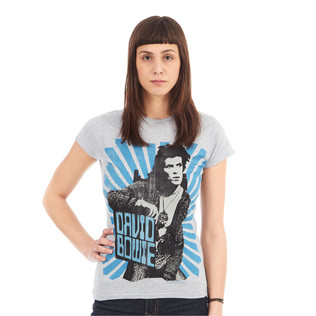 David Bowie - Blue Beams Women T-Shirt