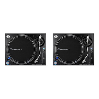 Pioneer - Turntable DJ Set (2x PLX-1000) Bundle
