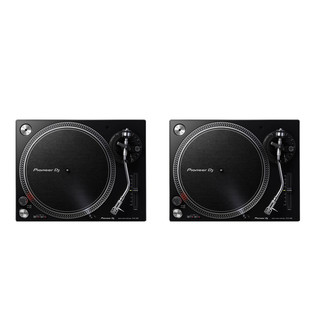 Pioneer - Turntable DJ Set (2x PLX-500 K) Bundle