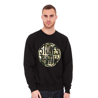 Stones Throw - Camo Logo Sweatshirt